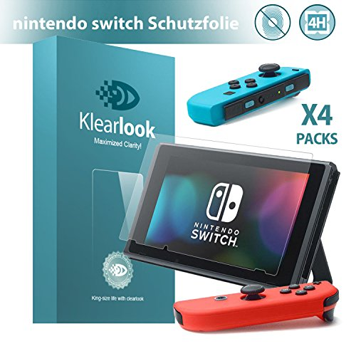nintendo-switch-klearlookr-4x-display-schutzfolie-matt-vollbid-pet-bildschirm-schutz-4h-hartegrad-kr