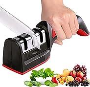 Knife Sharpener, Necomi مبراة سكين, Kitchen Knife Sharpener for Sharpening and Polishing Kitchen Knives with E
