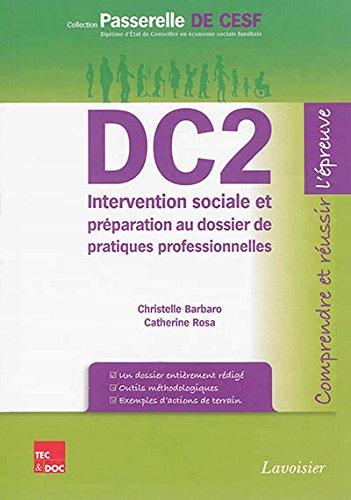 DC2 Intervention sociale et préparation au dossier de pratiques professionnelles par Christelle Barbaro