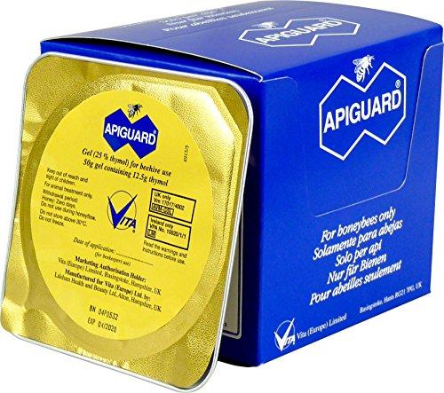 Apiguard Varroa Control, Natural Varroa Mite Treatment for Honeybee Colonies, Beehives, Apiary 1