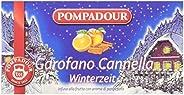 Pompadour Infusione per Bevande Calde, Garofano e Cannella - 20 filtri - [confezione da 3]