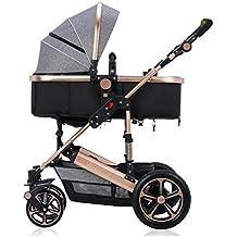 ZHZ-Bicicletas La Carretilla del bebé con un Choque se Puede Doblar Puede Sentarse Puede