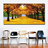 Art Money Tree Poster And Printmaking Wall Art Canvas Print Wall Picture for Living Room Canvas Painting (No Frame) A1 35x70CM