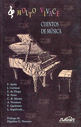 Molto vivace: Cuentos de música (Narrativa Breve)