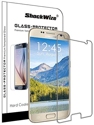 Für Samsung Galaxy S9Plus [Nicht S9] by shockwize Premium [gehärtetem Glas] Screen Protector HD Transparenz stoßfest Galaxy S9Plus, 1-Pack