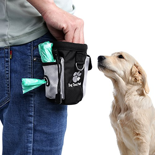ueetek Leckerli Tasche für Hunde Staubsaugerbeutel Nahrung auf den Taschen zur Ausbildung von Tier Nahrung Säcke von Snack