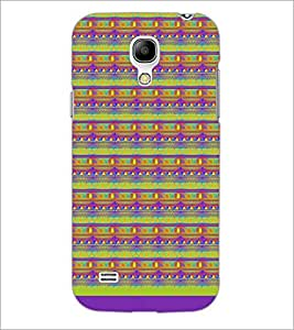 PrintDhaba Pattern D-1717 Back Case Cover for SAMSUNG GALAXY S4 MINI (Multi-Coloured)
