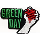 Parche Parches Green Day Green Day American Idiot Music Band Logo embroi Embroidery Iron on Patch style02