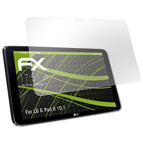 atFolix Bildschirmfolie für LG G Pad II 10.1 Spiegelfolie, Spiegeleffekt FX Schutzfolie
