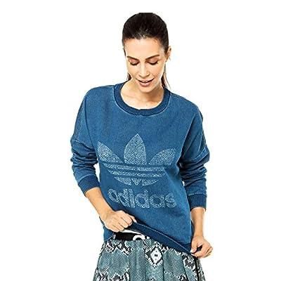 adidas Originals Women's Logo Denim Sweatshirt