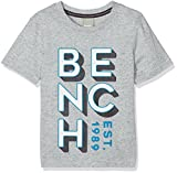 Bench Jungen T-Shirt Brand Carrier Tee, Grau (Grey Marl MA1023), 164 (Herstellergröße: 13-14)