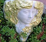 Elfen-Prinzessin mit goldenen Haaren, Dekoration für Garten Terasse Balkon