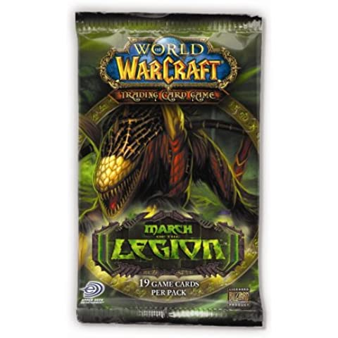 World of Warcraft TCG WoW Trading Card Game March of the Legion Booster Pack