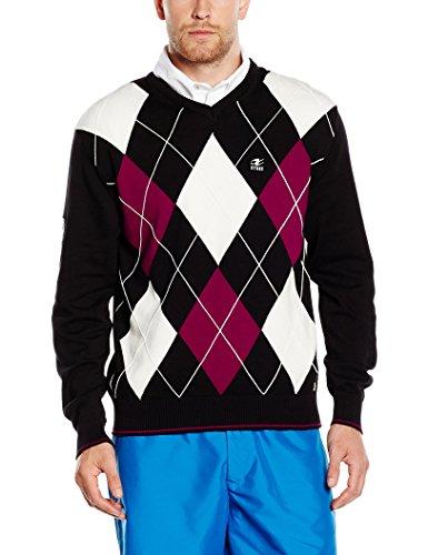 XFORE Golfwear Pullover Gisborne schwarz XXL