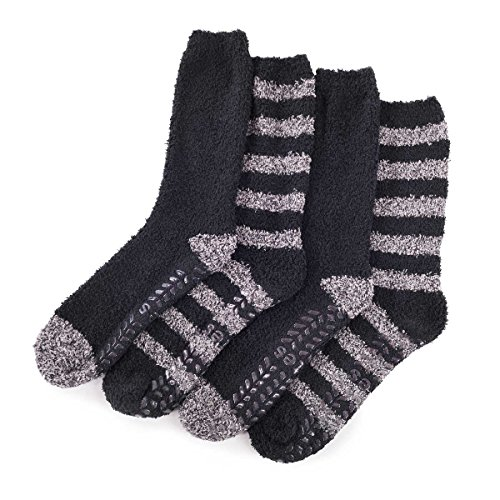 totes-mens-supersoft-socks-twin-pack-black-grey-one-size