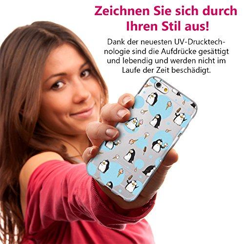 EGO® Double Touch Case + Ladekabel Armband für iPhone 7 Plus Motiv 2 Blumen 360 ° Grad komplette TPU Silikon Hülle vorne hinten Beidseitiger Schutz Full Handy Tasche transparent Front Back doppelseiti Motiv 4