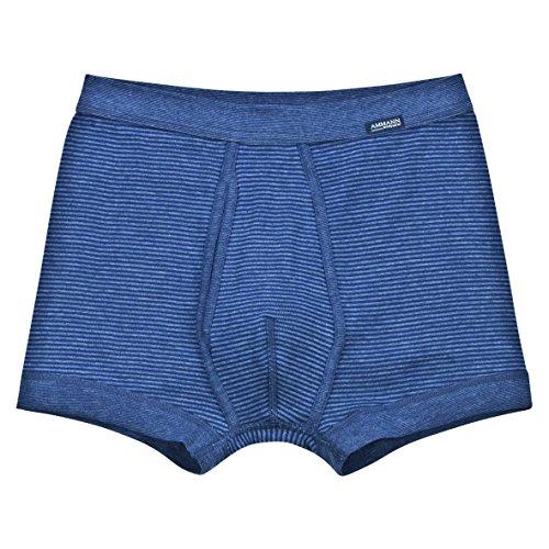 Ammann Herren Hose kurz mit Eingriff Jeans 3er Pack Hellblau