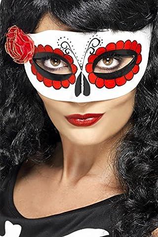 Doc Idées De Costumes - Smiffys Déguisement Adulte, Masque jour des morts