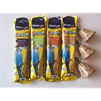 Bird Treat Selection Pack (Stick Treats and Bells) - Budgies, Parakeets etc