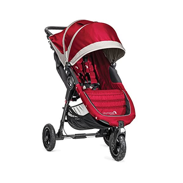 Baby Jogger City Mini GT Single Stroller (Crimson)
