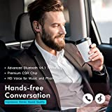 Mpow® Bluetooth Headset [Business Stil] Wireless Headset Bluetooth Ohrhörer Freisprechen mit Clear Voice Capture Technologie Bluetooth In-Ear Headset für iPhone Samsung Huawei HTC, usw. (Bluetooth 4.1, 280 Stunden Standby-Zeit, Schwarz) - 1
