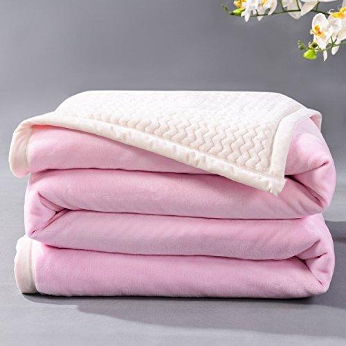 BDUK Die Decke im Winter dicke Daunendecke Coral doppelklicken Sie auf Doppelte Wohnheime Faller fusselfreien Klimaanlage Decken