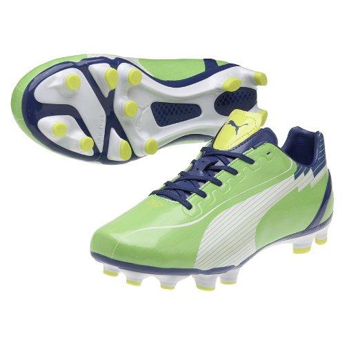 Puma evoSPEED 4 FG 102581, Scarpe da calcio uomo verde - verde