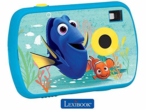 Dory - Cámara de fotos digital Disney, infantil, nemo (Lexibook DJ017DO)