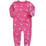 Vine Pijama para Bebé Peleles Algodón Mameluco Niños Niñas Body Manga Larga Trajes de Niños