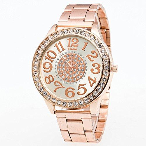 Armbanduhren männer Herrenuhr mit Datum Funktion Herren Luxus Jungen Edelstahl Zeiger Quarz Armbanduhr RG Armbanduhr Uhren Armbanduhren Herrenarmbanduh Rose Gold
