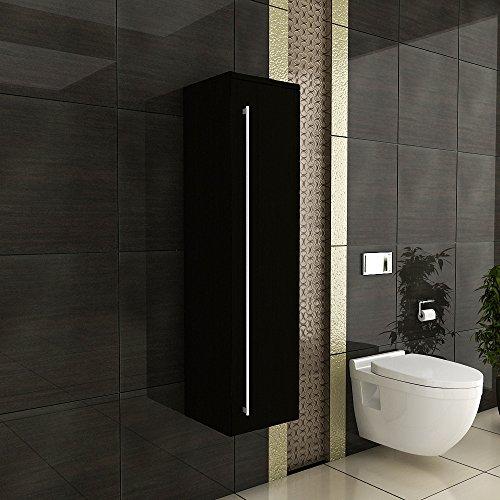Wandschrank-Hochschrank-Hngeschrank-Badezimmermbel-schwarz-120-cm-inkl-Soft-Close-Funktion-Design-Seitenschrank-Mbel-frs-Bad-Badezimmer-Badmbel-Bad