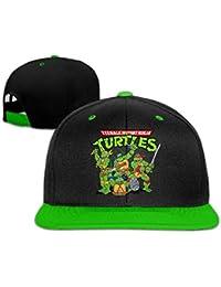 Biotio Teenage Mutant Ninja Turtles Adjustable Snapback Hip Hop Baseball Caps/Hats For Unisex