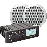 Fusion ms-ra70nkt–Lecteur Multimedia avec Haut-parleurs compatibles, Couleur Noir