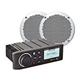 Fusion MS-RA70NKT - Reproductor Multimedia con Altavoces compatibles, Color Negro