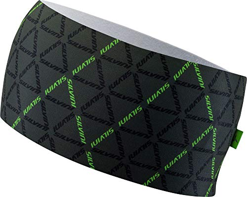SILVINI Unisex Piave Stirnband aus Elastischem Werkstoff mit Leichter Isolierung für Aktiv Sport Grau - S/M