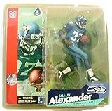 NFL Shaun Alexander Series 6 Blue Jersey, Blue Pants
