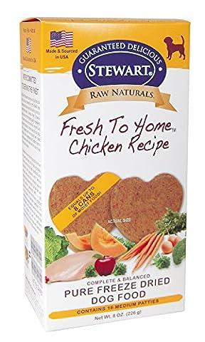 Stewarts Foods Gimborn Pet Food-Raw Naturals Freeze Dried Patty- Chicken Medium/8Oz/16Pc