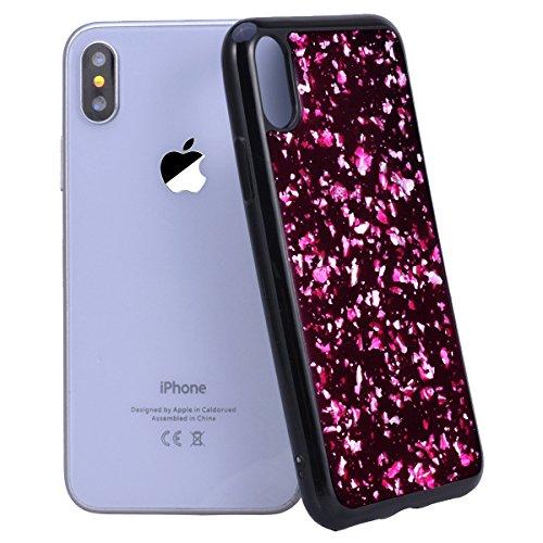 coque iphone x ultra fine rose