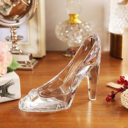 Ornamente Nordic/Creative Glass high Heels/Heimische Wohnzimmer Dekoration-A (Glas High Heel-figur)