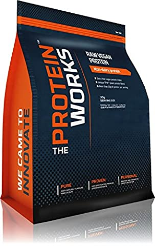 The Protein Works Raw Vegan Protein Powder - Choc Peanut Cookie - 2kg