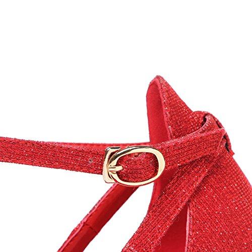 Adee Mesdames escarpin polyuréthane pumps-shoes Rouge - rouge