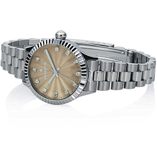 Orologio Donna Luxury Diamonds Beige 2569LD-S06 - Hoops