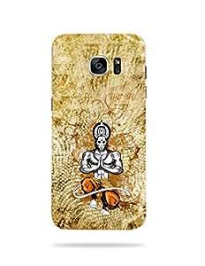 alDivo Premium Quality Printed Mobile Back Cover For Samsung Galaxy S7 Edge / Samsung Galaxy S7 Edge Printed Hanuman Ji / Bajrangbali Mobile Case / Cover (...