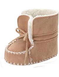 Zapatos de invierno bebé recién nacidos Amlaiworld Botines bebé Niña Niño botas de invierno Zapatos calientes recién nacidos Cuna Zapatos 0- 18 Mes