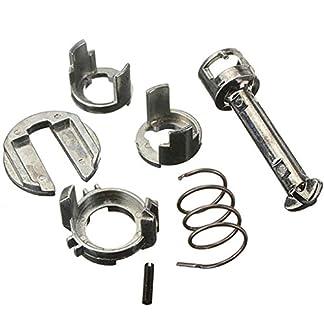 Sunlera Cerradura de Puerta del Cilindro Barril Kit de reparación 51217019975 Compatible con BMW E46 Serie 3 323 325 328 330 M3