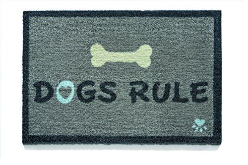 Felpudos Perros (50x 75cm, diseño perros regla 1