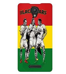 Printvisa Three Footballers In Action Back Case Cover for Xiaomi Redmi Note 2::Xiaomi Redmi Note 2 (2nd Gen)