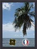 Caisse américaine pour Une Toile Format Marine 40 65x100 / 100 x 65 Cadre Caisse Americaine Noir, 4 cm de Largeur, Cadre en Bois