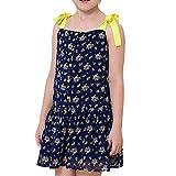NACHEN Mädchen Kleid Gr. 160 cm , Deep Blue