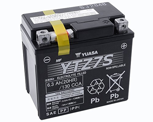 Batterie YUASA–YTZ7S wartungsfrei für HONDA SH 125Honda SH 125